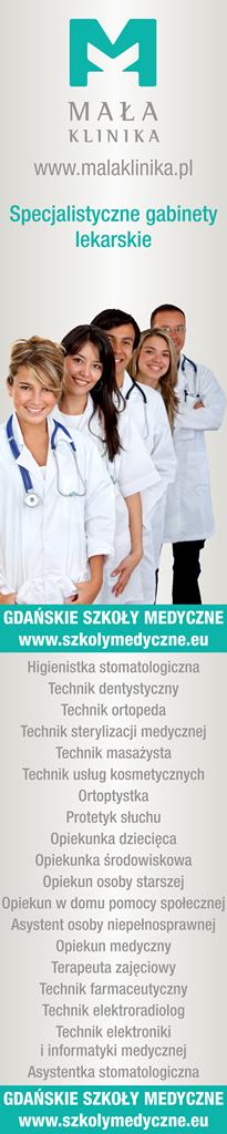 Mała Klinika, Gdańskie szkoły medyczne